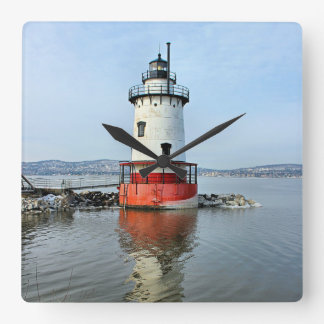 Tarrytown Lighthouse, New York Wall Clock
