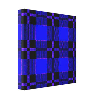 "TARTAN 12"" x 12"", 1.5"", Single Canvas Print"