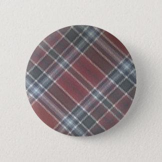 tartan 2 inch round button