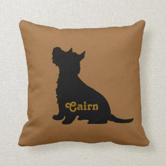 Tartan Cairn Terrier Pillow
