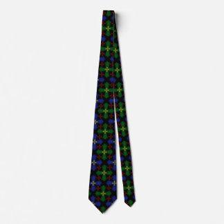 Tartan Celtic Cross Tie