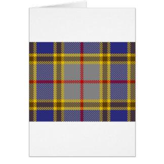 Tartan Clan Balfour Card