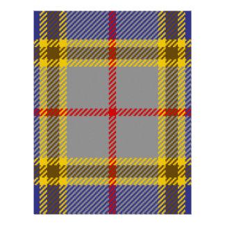 Tartan Clan Balfour Custom Letterhead