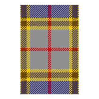 Tartan Clan Balfour Customized Stationery