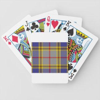 Tartan Clan Balfour Poker Deck