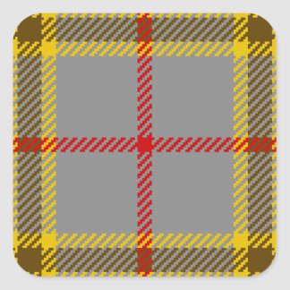 Tartan Clan Balfour Square Sticker