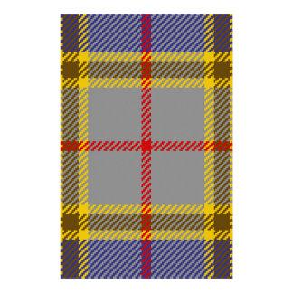 Tartan Clan Balfour Stationery