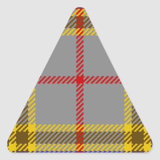 Tartan Clan Balfour Triangle Sticker