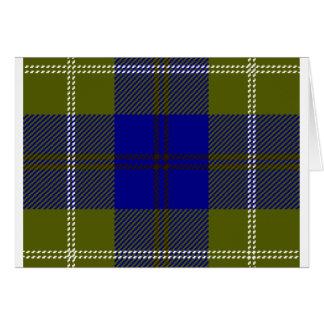 Tartan Clan Oliphant Card