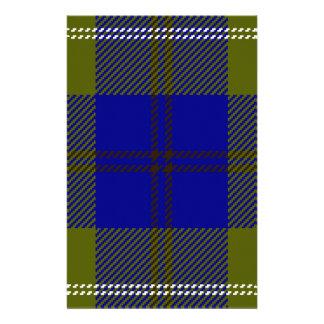Tartan Clan Oliphant Customized Stationery