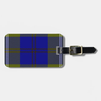 Tartan Clan Oliphant Luggage Tag