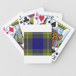 Tartan Clan Oliphant Poker Deck