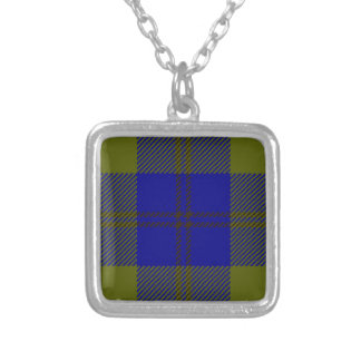 Tartan Clan Oliphant Silver Plated Necklace