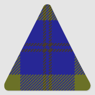 Tartan Clan Oliphant Triangle Sticker