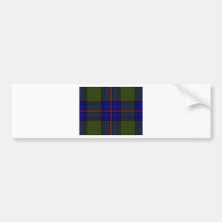 Tartan Clan Shaw Bumper Sticker