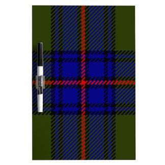 Tartan Clan Shaw Dry Erase Board