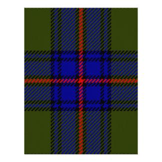 Tartan Clan Shaw Letterhead