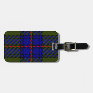 Tartan Clan Shaw Luggage Tag