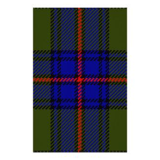 Tartan Clan Shaw Personalized Stationery