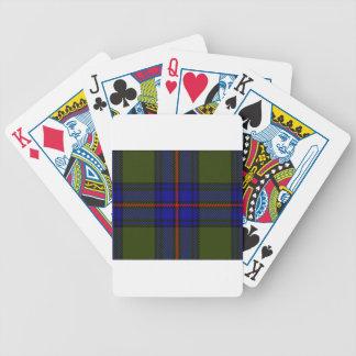 Tartan Clan Shaw Poker Deck