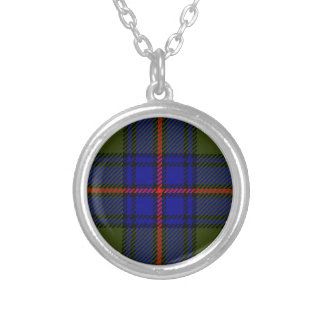 Tartan Clan Shaw Silver Plated Necklace