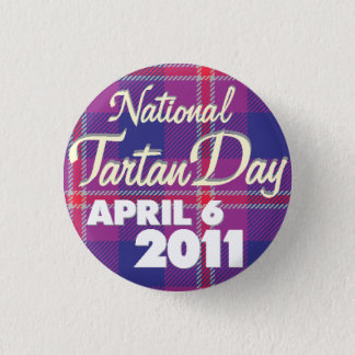 Tartan Day 2011: Mini 1 Inch Round Button