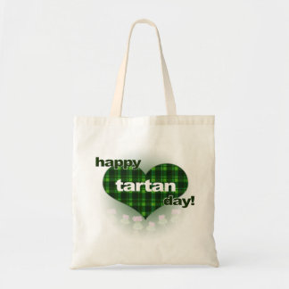"Tartan Day ""Heart and Thistles"" Tote Bag"