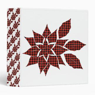 Tartan flower binder