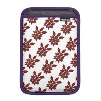 Tartan flower iPad mini sleeve