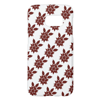 Tartan flower samsung galaxy s7 case