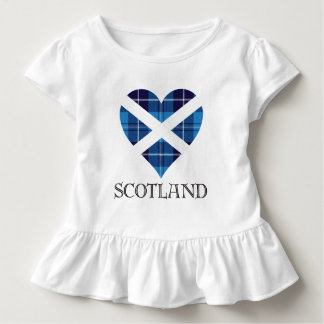 Tartan Heart - Scotland Toddler T-shirt