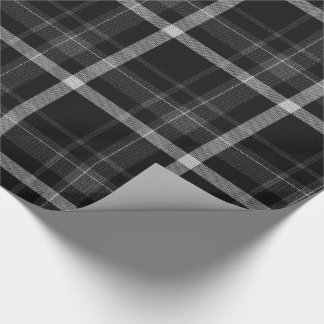 Tartan Knight Christmas Wrapping Paper