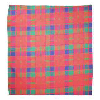 Tartan Lapel Pocket Handkerchief Head Kerchiefs