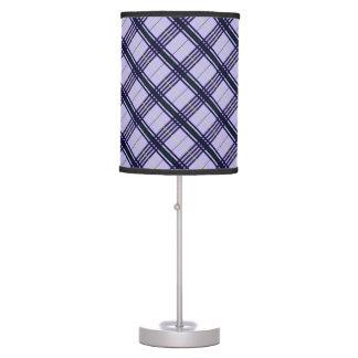 Tartan Lavender Desk Lamp