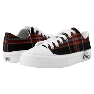 Tartan Low-Top Sneakers