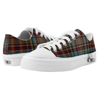 Tartan Low-Top Sneakers
