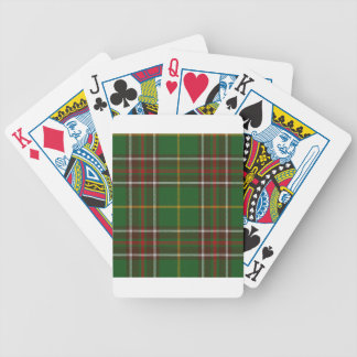 Tartan_of_Newfoundland_and_Labrador Poker Deck