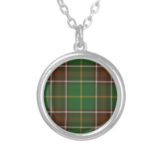 Tartan_of_Newfoundland_and_Labrador Silver Plated Necklace