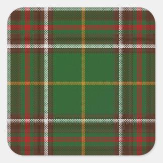 Tartan_of_Newfoundland_and_Labrador Square Sticker