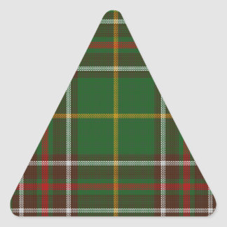 Tartan_of_Newfoundland_and_Labrador Triangle Sticker