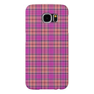 Tartan Pattern Modern Fabric Effect – Pi Samsung Galaxy S6 Cases