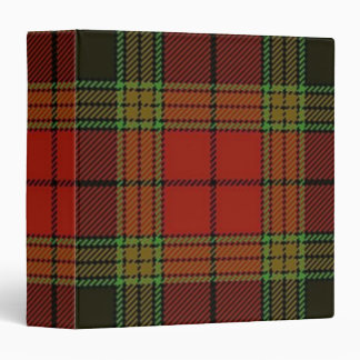 Tartan Plaid Avery Binder