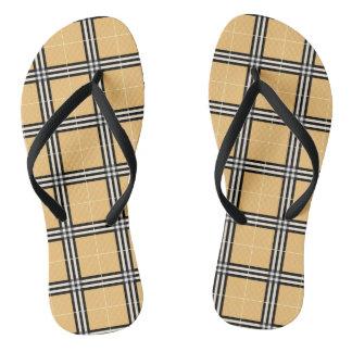 Tartan - Scotch Pattern Flip Flops