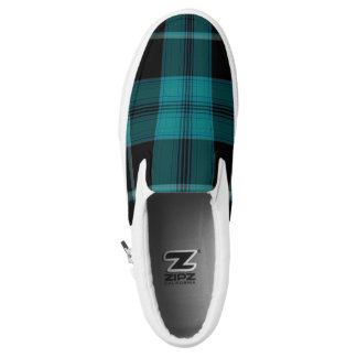 Tartan Slip-On Sneakers