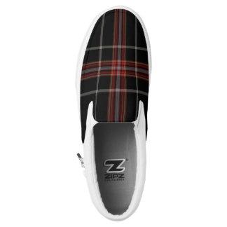 Tartan Slip-On Sneakers