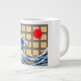 Tartan Tsunami Large Coffee Mug