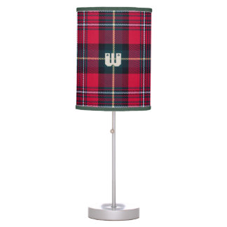 Tartan with (or without) Initial(s) Table Lamp