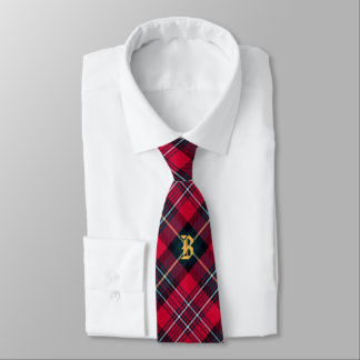 Tartan with (or without) your Initial Tie
