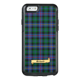 Tartan with Your Name on it OtterBox iPhone 6/6s Case
