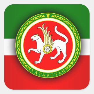 Tartarstan Square Sticker